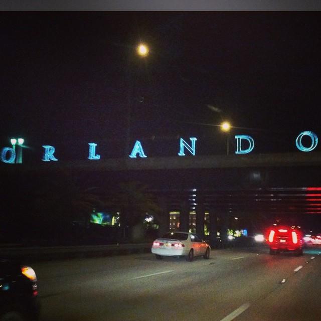 Made it! #Orlando #florida #signs