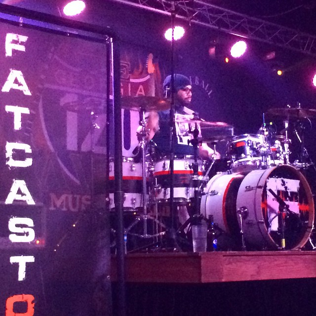 Supporting our 2.0 musicians in their many other bands and projects! Here's 2.0 drummer @wudsworld with his band Fatcastor at their CD release show in Atlanta. #drummer #supportyourlocals #fatcastor #120Tavern #marietta #Atlanta #beatmaster