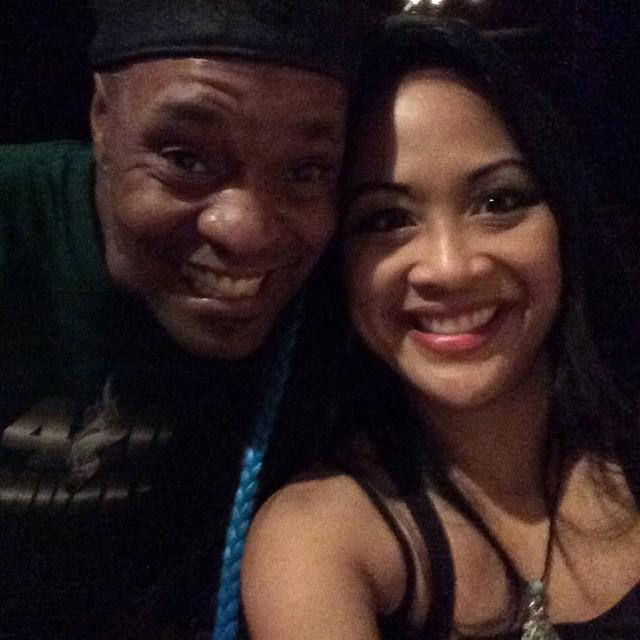#Bonz and #Kadria at the #StuckMojo show in Atlanta tonight. #hometownheroes #masquerade #supportyourlocals #Atlanta #georgia #rock