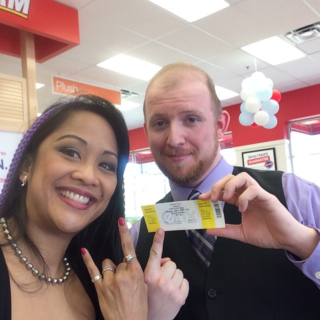 #Inviolator Jamee Olexa has his ticket to our #Augusta show with @chainsawmasscara and @oneeyeddoll -- do you?? Http://inviolate1.com/tickets #georgia #femalefrontedbands #SurrealLive #supportyourlocals #tickets #Kadria