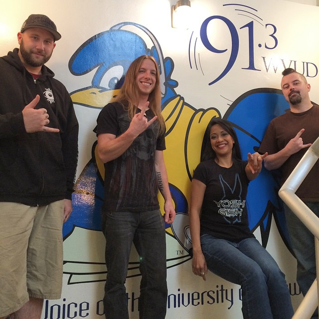 #UDel 's #BlueHen #Delaware #Newark #mascot #radiostation #wvud #theguillotine #interview #inviolate2pt0